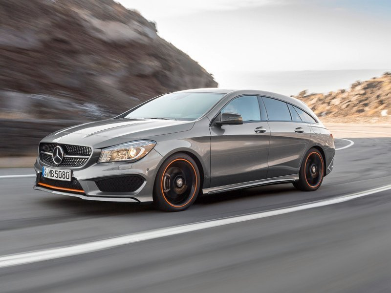 Mercedes CLA Shooting Brake (X117) - фотография