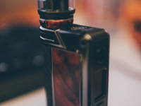Lost Vape Paranormal DNA250C Gunmetal Scarlet Passion Black Kevlar